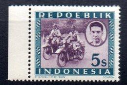 Sello De Indonesia. - Motos