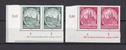 DDR - 1956 - Michel Nr. 524/525 DV - Postfrisch - Paar Mit Ecken - 20 Euro - Ungebraucht