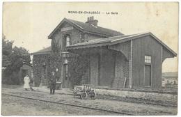 Mons-en-Chaussée - La Gare 1914 - France