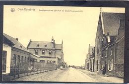 OOST-ROOSBEKE - Smallestokstraat (Gildhof En Ouderlingengesticht) - Oostrozebeke