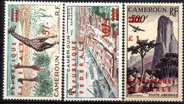 Cameroun PA YT N° 49A Et 50A (petits Chiffres) Et 51A (grande Surcharge) Neufs **/*. B/TB. A Saisir! - Kamerun (1960-...)