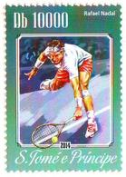 SAO TOME  - 1v - MNH - Rafael Nadal - Spanish Tennis Player - Sport - Spain - Espagne - Tennis