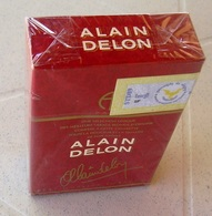 Tres Rare Paquet Cigarettes Alain Delon......collector - Cigarettes - Accessoires