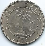 Liberia - 1941 -2 Cents - KM12a - Liberia