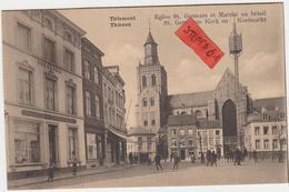 Tienen, Thienen, Tirlemont, De Veemarkt En De Drukkerij Jules Vanhoebroeck, Collectors! - Tienen