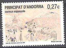Andorra Español 2004 Yvert 300 Neuf ** Cote (2015) 1.00 Euro Foire Au Bétail Joaquim Mir - Andorre Espagnol