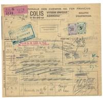 France, Colis Postaux, Petits Colis, N° 12 ( N° Maury ) Sur Document RARE - Parcel Post
