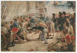HERO OF TRAFALGAR BY WILLIAM HEYSMAN OVEREND. UNPOSTED - Paintings