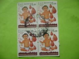 SRI LANKA (CEYLON)  INTERNATIONAL THALASSAEMIA DAY BLOCK USED. - Sri Lanka (Ceylan) (1948-...)