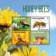 St. Vincent 2018 Fauna Honey Bees  I201901 - St.Vincent & Grenadines