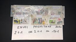 Timbres En Francs Français Neufs Pour 100 Envois Prioritaire (20 Grs ) Pour 50,00 Euros.Voir Description. - France