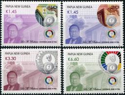 Papua New Guinea 2016. Commemorative Coins And Notes PNG (MNH OG) Set - Papua Nuova Guinea
