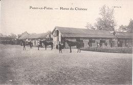 CPA PARAY-LE-FRESIL (03) HARAS DU CHÂTEAU - ANIMEE - France