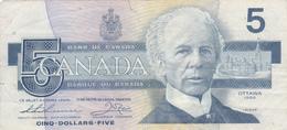 Five Dollars  Canada. - Canada