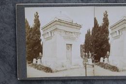 Châtellerault 86100 Stéréo Cimetière Famille Henry-Renou 135CP02 - Fotos Estereoscópicas