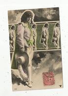 Cp, Spectacle ,artiste,  LUCY GERARD ,  Reutlinger ,  Voyagée 1907 - Künstler