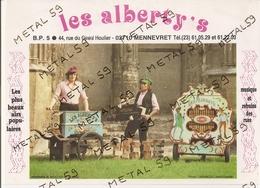 Les Alberty's, Musique Et Refrains Des Rues, Mennevret (animations Spectacles) - France