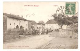 CPA 88 Les Hautes Vosges - MENIL - SENONES - Vue Animée Du Village Avant Guerre (août 1914) - Peu Commune - Senones
