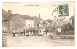 CPA 88 Les Hautes Vosges - MENIL - SENONES - Vue Animée Du Village Avant Guerre (août 1914) - Senones