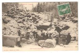 CPA 88 Vosges SENONES - Les Roches Margot En Hivers - Carrières - Tailleurs De Pierre - Peu Commune - Senones
