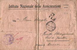 FRANCHIGIA POSTA MILITARE 14 1918 CAVALLINO X PONTE STAZZEMESE - 1900-44 Vittorio Emanuele III