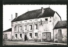CPA Donjeux, Hotel-Restaurant Du Lion D`Or - Frankrijk