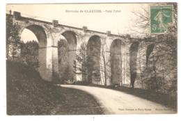CPA 88 Environs De CLAUDON - Pont Total ( TATAL Ou TATALE  ) - Viaduc Sur Ourche - Petit Plan De Voiture - France
