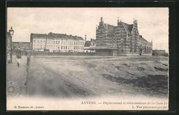 AK Anvers, Dèplacement Et Rehaussement De La Gare - Belgique