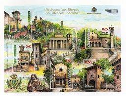 San Marino - 2011 - Minifoglio Serie Turistica - 6 Valori - (FDC15893) - Blocchi & Foglietti