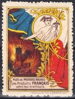 Vignette De Propagande-''Plusde Produits Boches-Les Produits Français Sont Les Meilleurs'' - Commemorative Labels