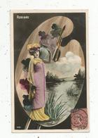 Cp, Spectacle , Artiste,  ROBINNE ,  Voyagée 1907 - Artistes