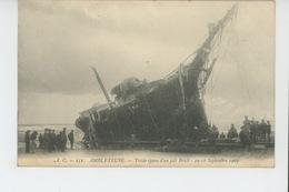 AMBLETEUSE - Triste épave D'un Joli Brick - 10-11 Sept. 1903 - Autres Communes