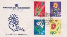 1969 SOMALIA Flora Serie Cpl. FDC - Somalia (1960-...)