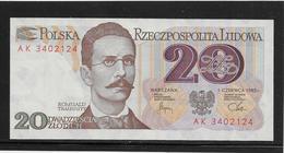 Pologne - 20 Zlotych - Pick N°149 - NEUF - Pologne