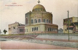 """4283 """"CAIRO-CHURCH COPHTE IN THE OLD CAIRO""""CART. POST.  ORIG. NON SPED. - Cairo"""
