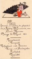 Menu - Eetmaal Communie Diane Hennion - Brugge 1944 - Menus