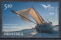 CROATIA 1196,unused,ships - Croatie