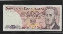 Pologne - 100 Zlotych - Pick N°143e - TB - Pologne