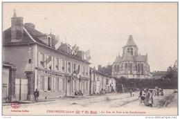 A 13 - 10) CHAVANGES (AUBE)  RUE DU BOIS ET GENDARMERIE - France