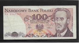 Pologne - 100 Zlotych - Pick N°143e - TTB - Pologne