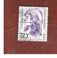 GERMANIA: BERLINO (GERMANY: BERLIN) -  SG B737 - 1988  FAMOUS GERMAN WOMEN 60  - USED - Used Stamps