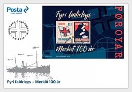 Faeroër / Faroes - Postfris/MNH - FDC Sheet Voor De Vaderlozen 2019 - Faeroër