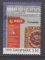 Denmark 2000 Mi. 1266     5.50 Kr Events 20. Century Ereignisse Des 20. Jahrhunderts Homepage Dänische Post - Dänemark
