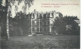 EVERGEM (WIPPELGEM) : Chateau De Ten Broucke - Cachet De La Poste 1907 - Evergem