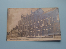 Pensionnat SAFFELARE - Façade ( Fotokaart ) Anno 1919 ( Zie Foto's ) ! - Lochristi