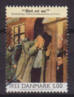 Denmark 2000 Mi. 1249   5.00 Kr Events 20. Century Ereignisse Des 20. Jahrhundert Zeitungsillustration Herluf Jensenius - Dänemark