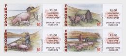 Faeroër / Faroes - Postfris/MNH - Complete Set Varkenhouderij 2019 - Faeroër