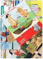 Illustrateur Alexandre  Humour Pin Up  Lot De 25 Cartes Differentes  Hu23 - Alexandre