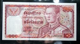 Thailand Banknote 100 Baht Series 12 P#89 SIGN#49 UNC - Thailand