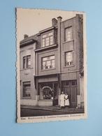 EINE - Beenhouwerij E. LANDRIEU VERPLANKEN, GROTESTRAAT 11 ( Om. Hoste Drukkerij Eine ) Anno 1957 ( Zie Foto's ) ! - Oudenaarde